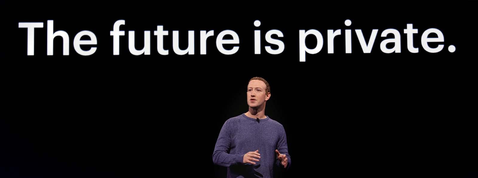 Mark Zuckerberg à la conférence Facebook F8