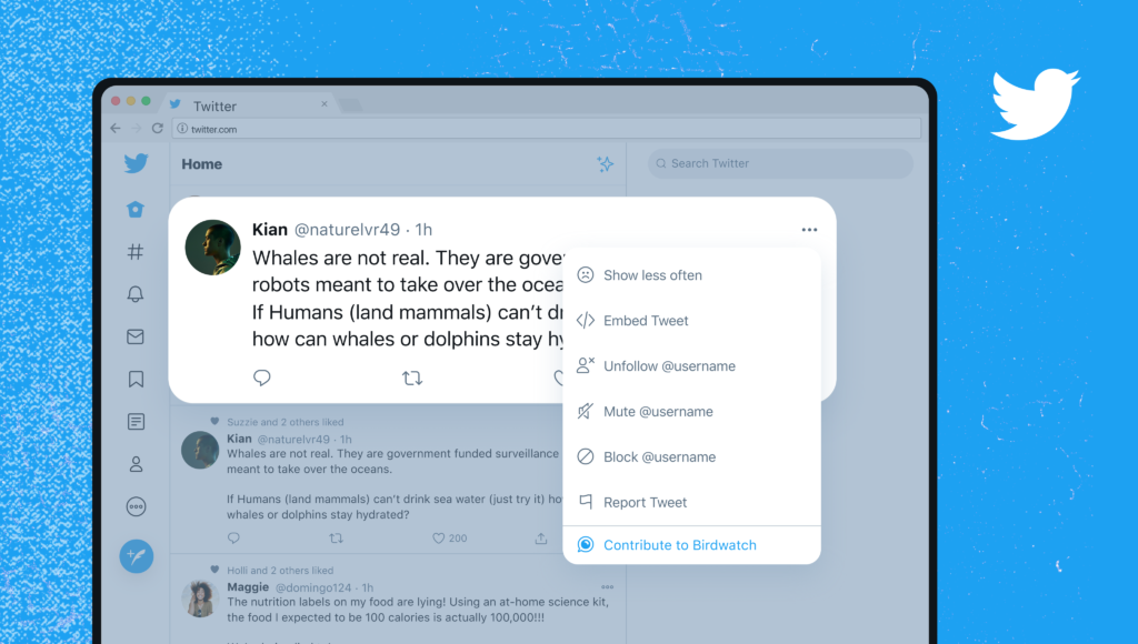 Ecrire des notes sur Birdwatch le nouvel outil de modération participative Twitter
